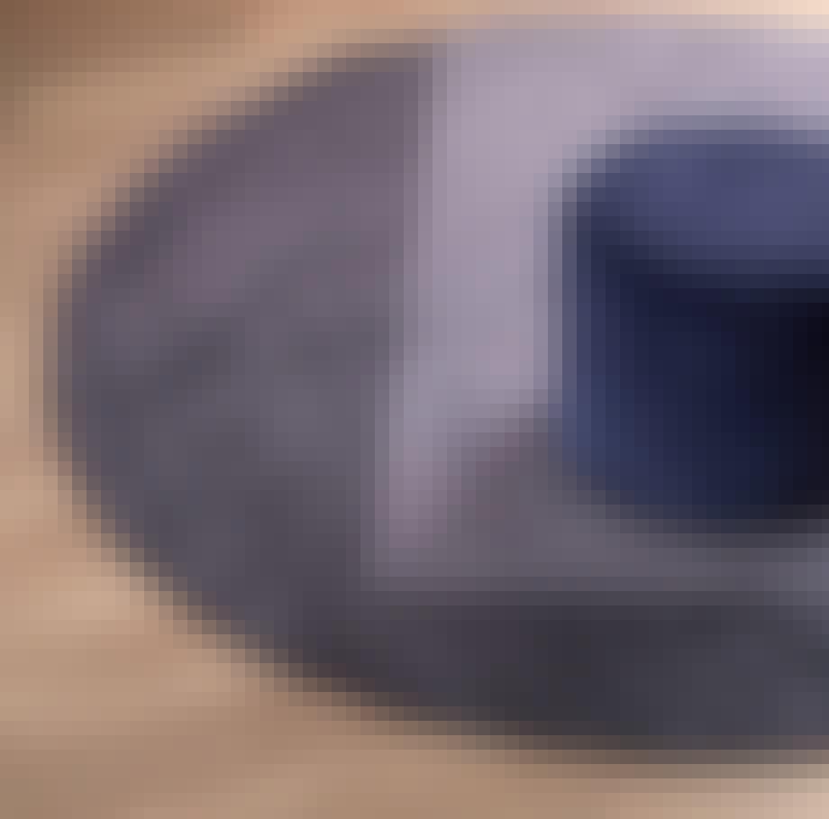 Rundt gulvtæppe fra IDEmøbler