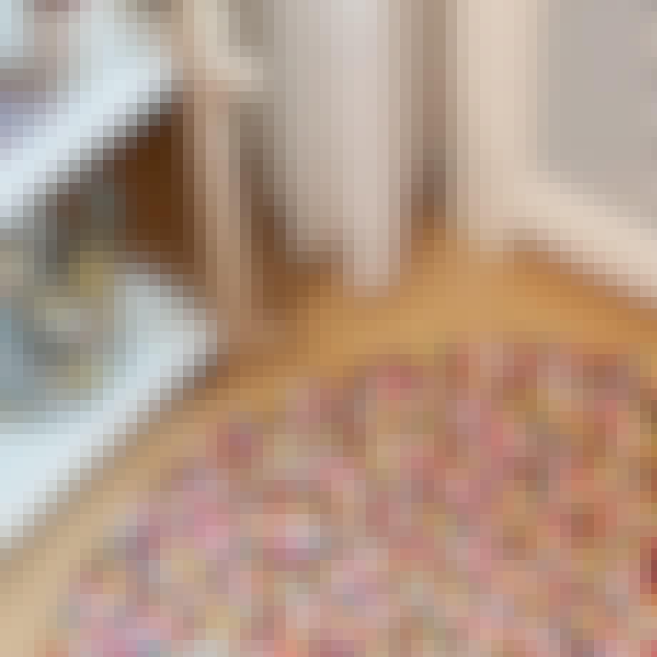 Rndt gulvtæppe fra HAY. Pinocchio