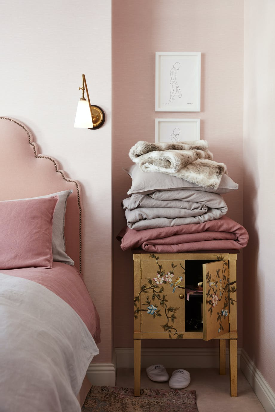 H&M Home At Home With Poppy Delevingne