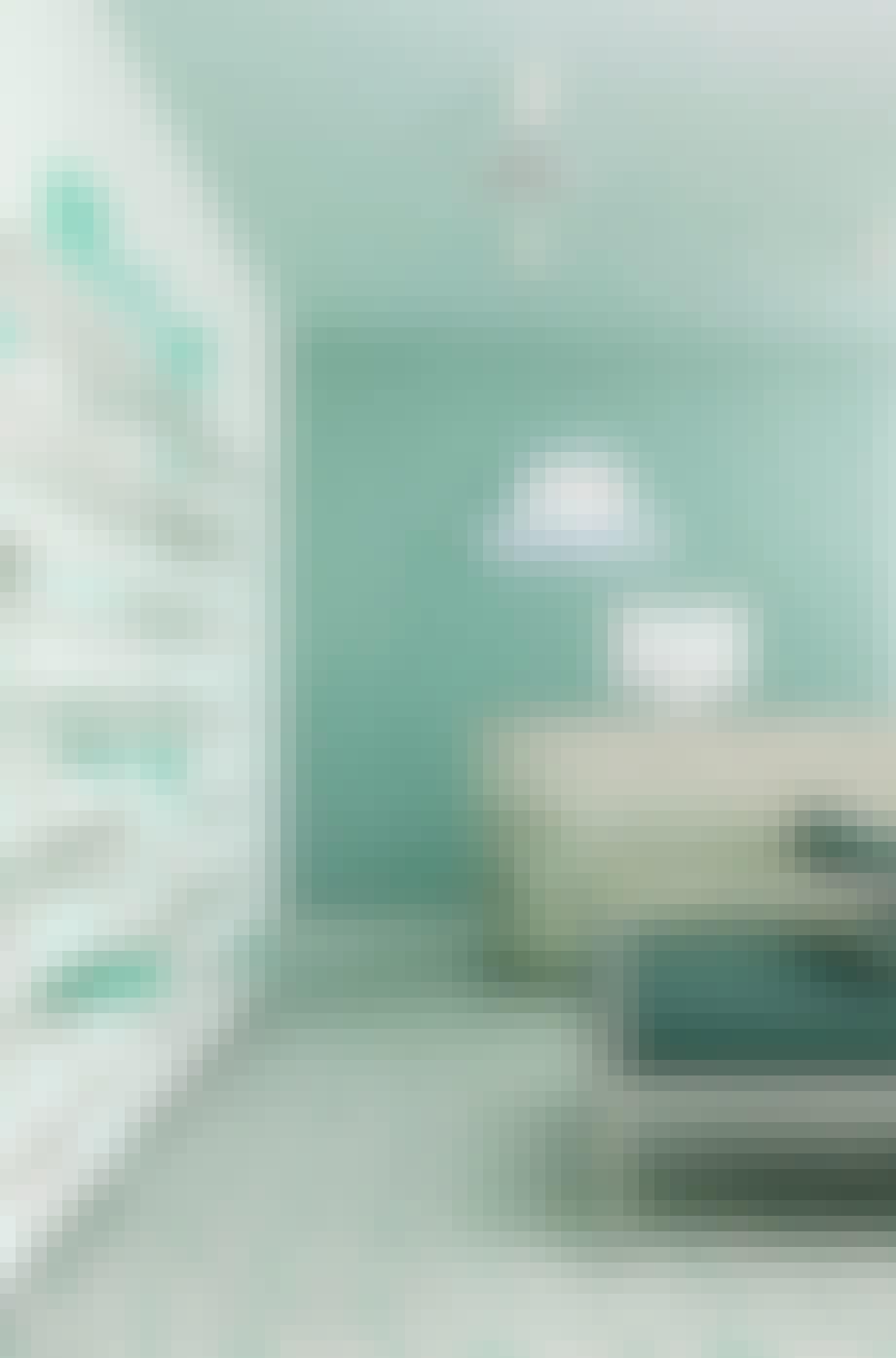 """Eksempel på hvordan fargen """"Neo Mint"""" kan brukes"""