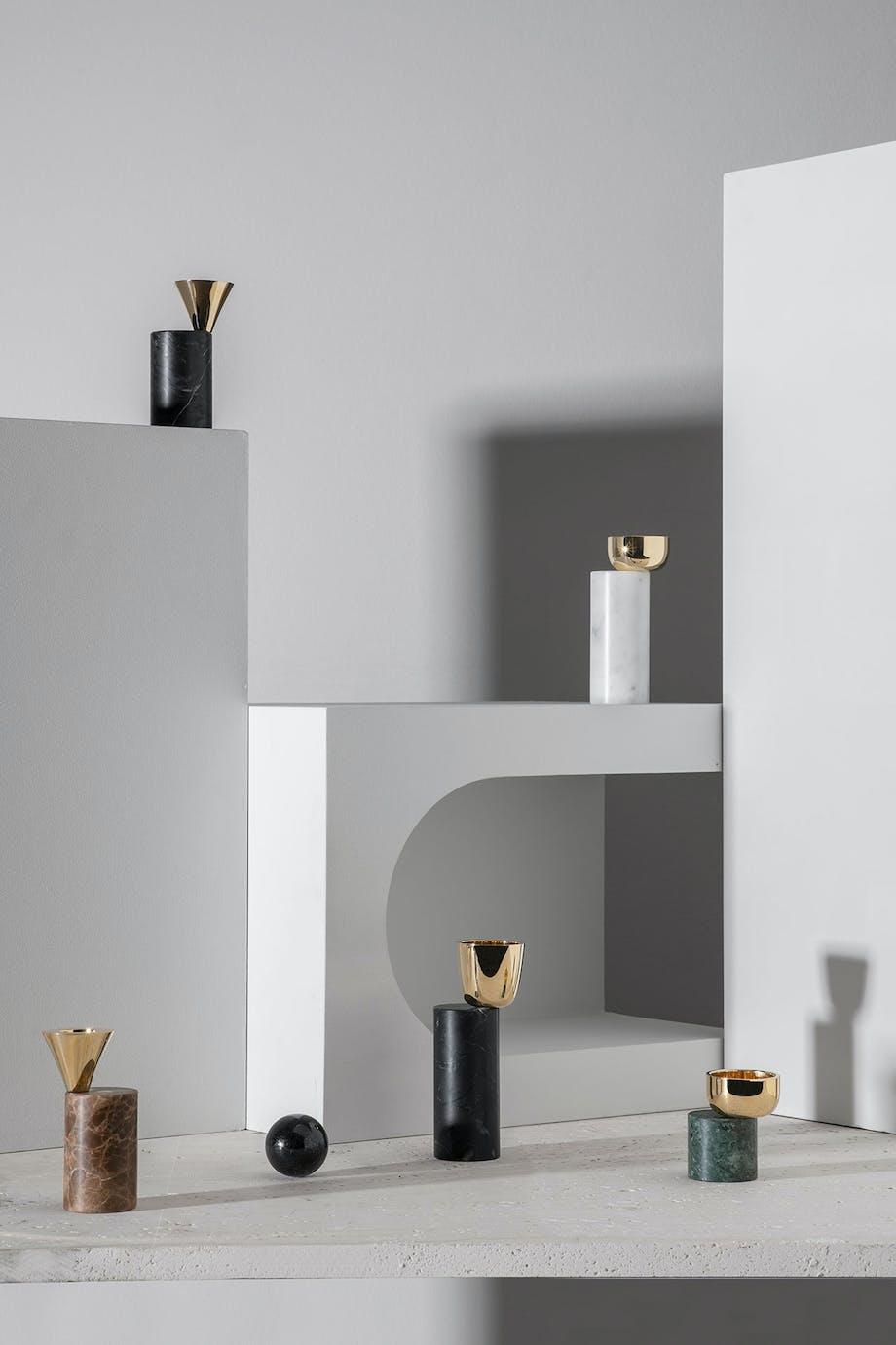 Designer Luca Nichetto har designet disse objekter for Skultuna
