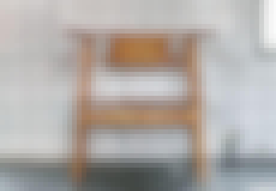 Stolen Velde i bjørk