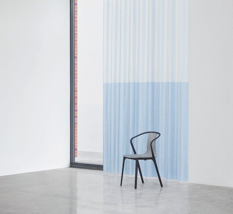 Kvadrat gardin i samarbejde med Margrethe Odgaard