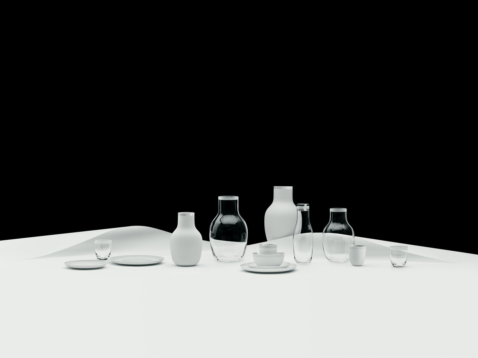 Tallerkener, glas og mugger