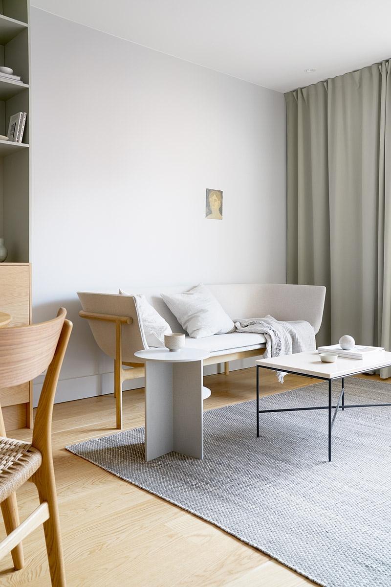 Lejlighed på 48 m2 indrettet smart og skandinavisk   bobedre.dk