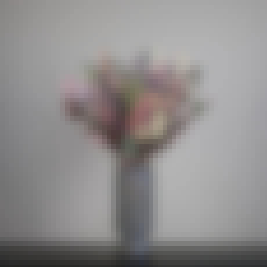 Buket fra Living Flowers