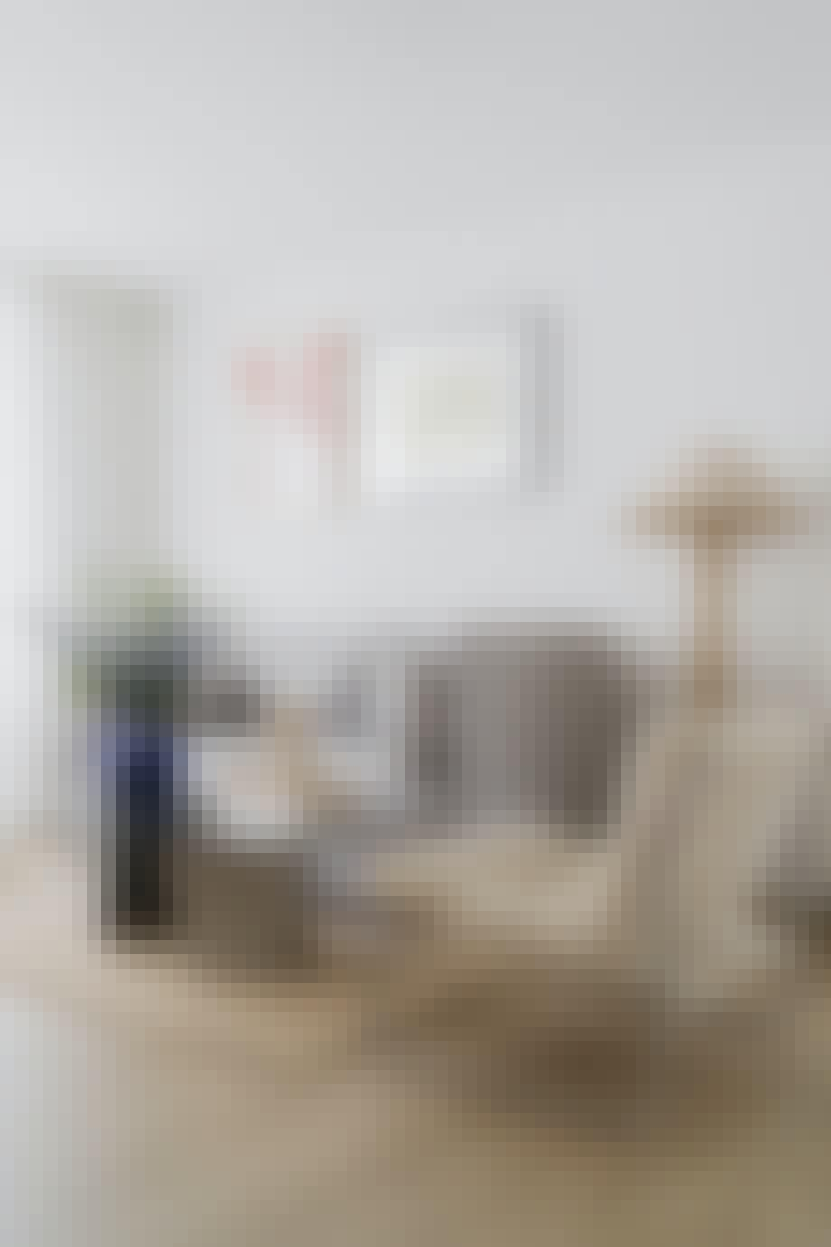 Arvede møbler i stuen