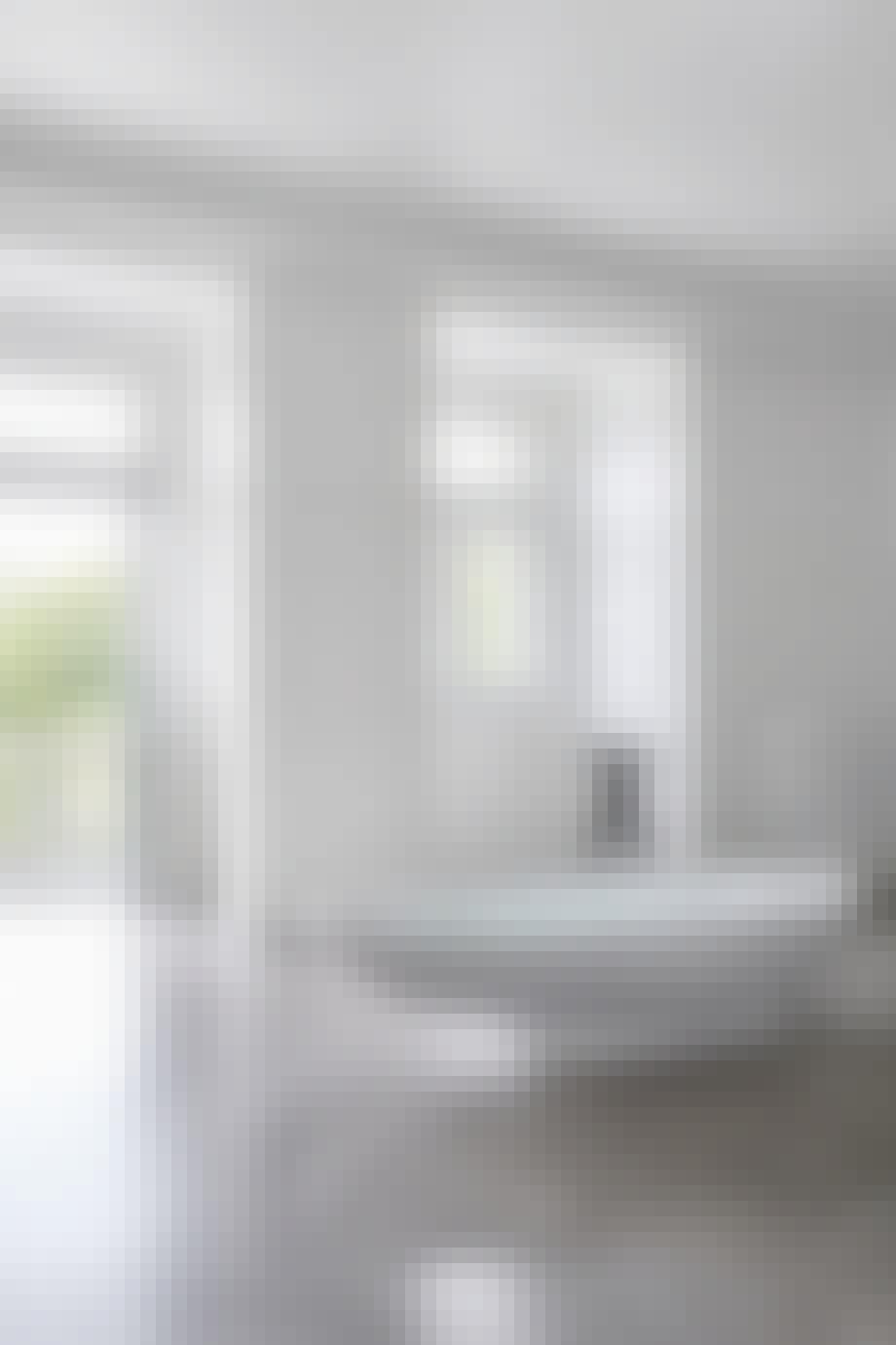 Badeværelse fungerer som et stort forkælelsesrum