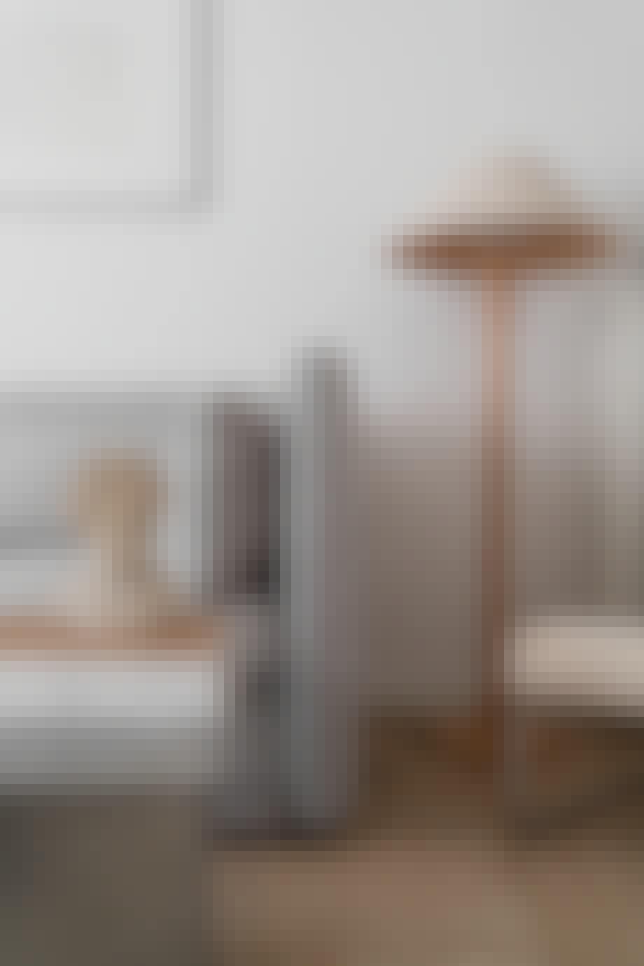 Lampe i hjemmets stue