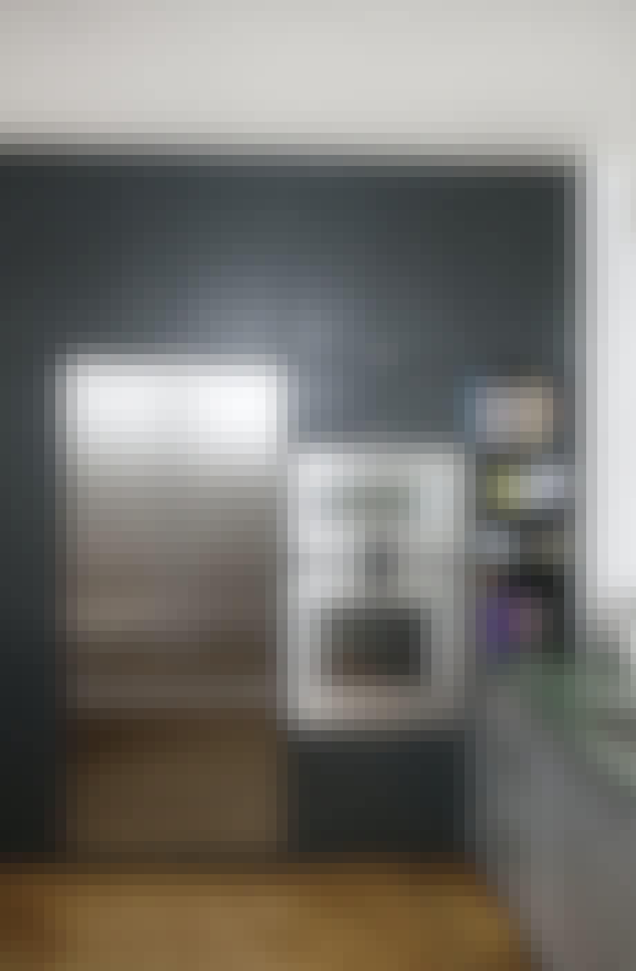 Køleskab og fryser