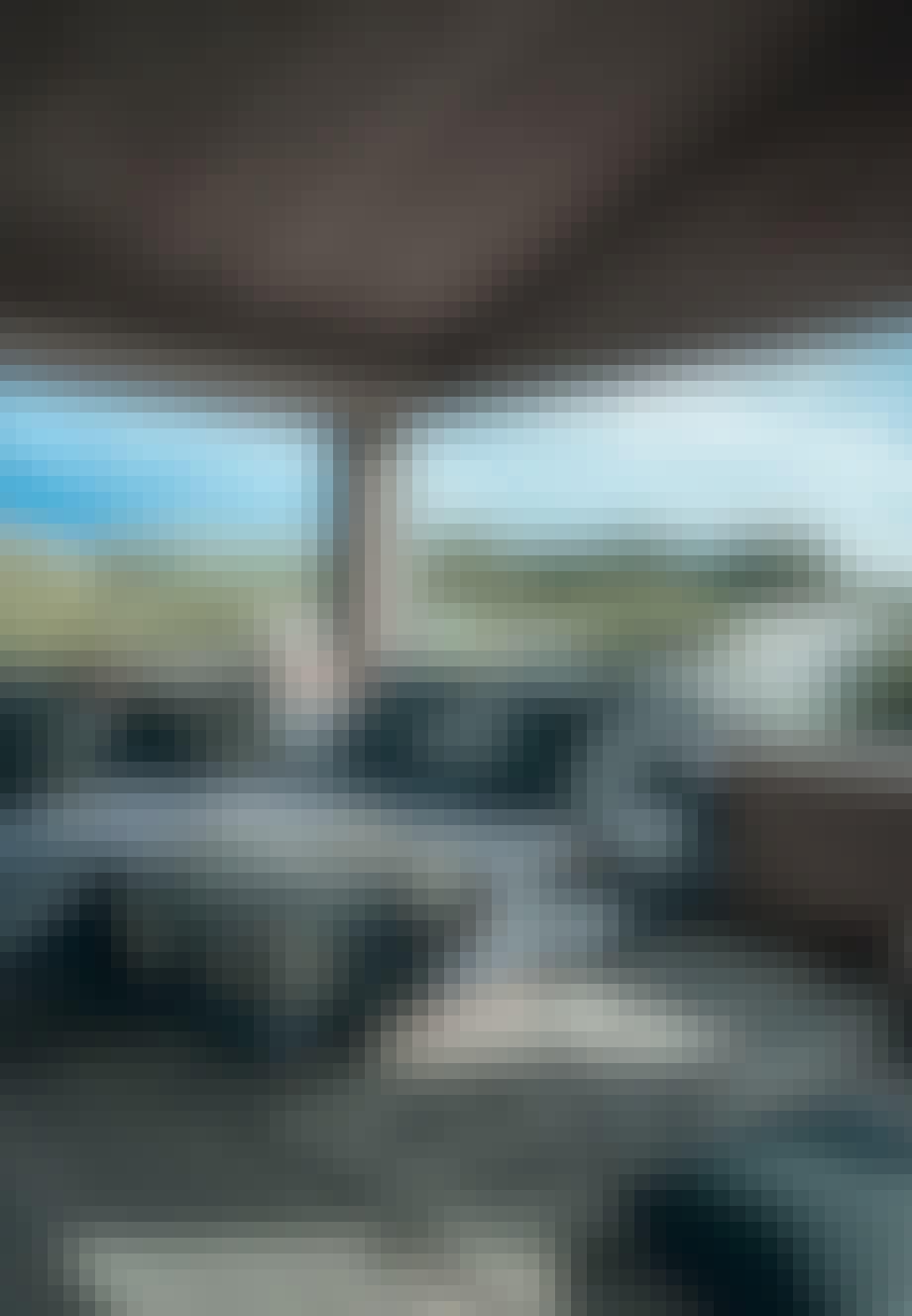 Sommerhus skjult i klitterne