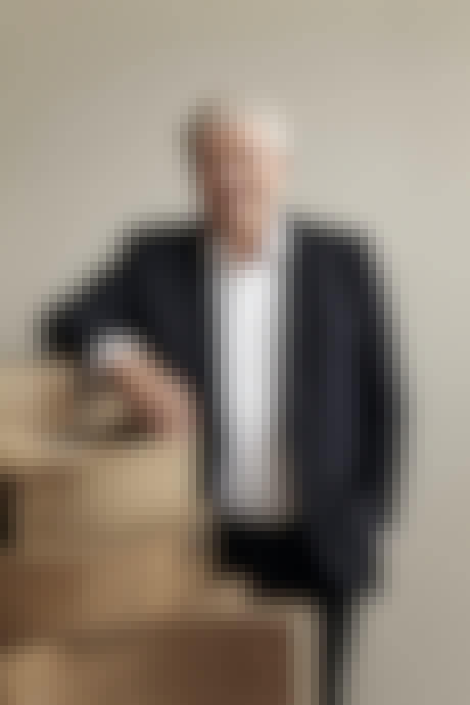 Knud Erik Hansen som står i spidsen for Carl Hansen & Søn