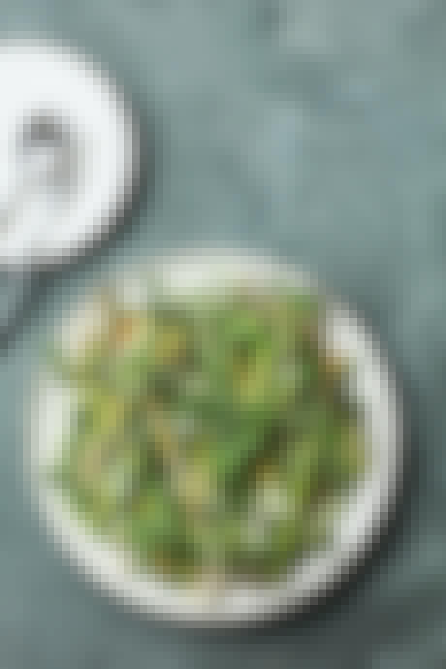 Opskrift med grillede asparges
