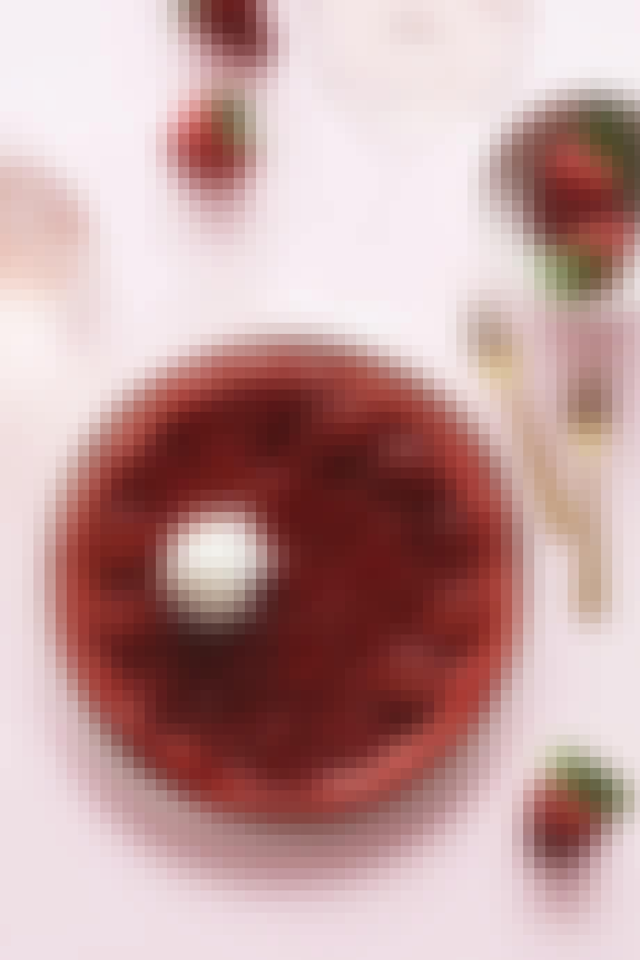 Jærdbær-tarte tatin