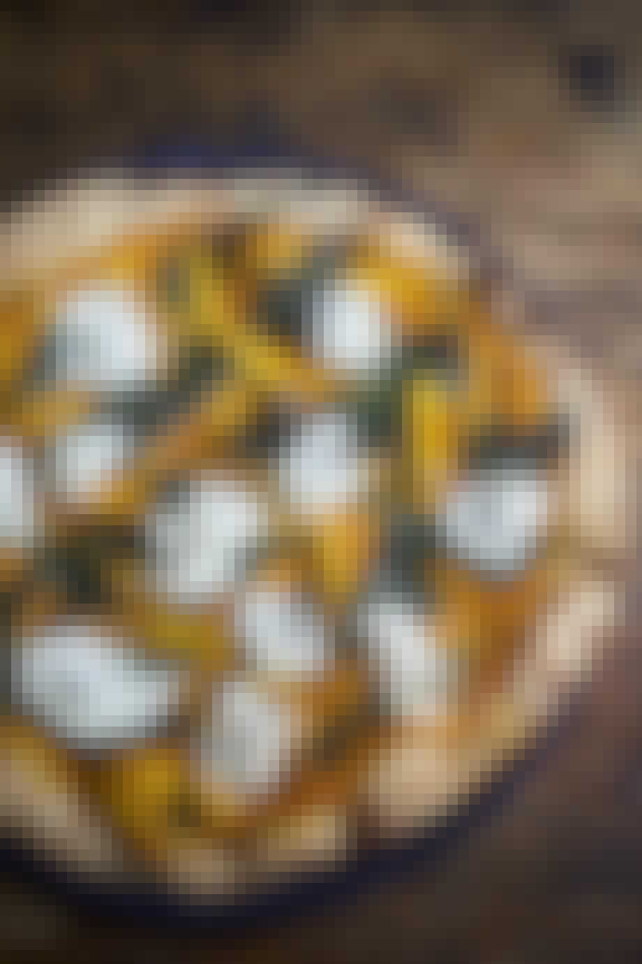 Græskar pizza