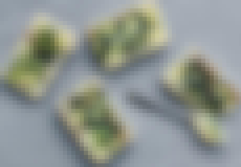 Små aspargestærter