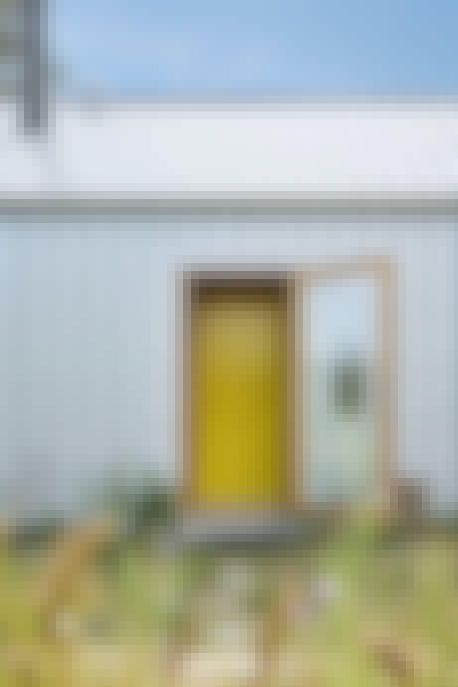 Den gule dør er inspireret af naturens farver