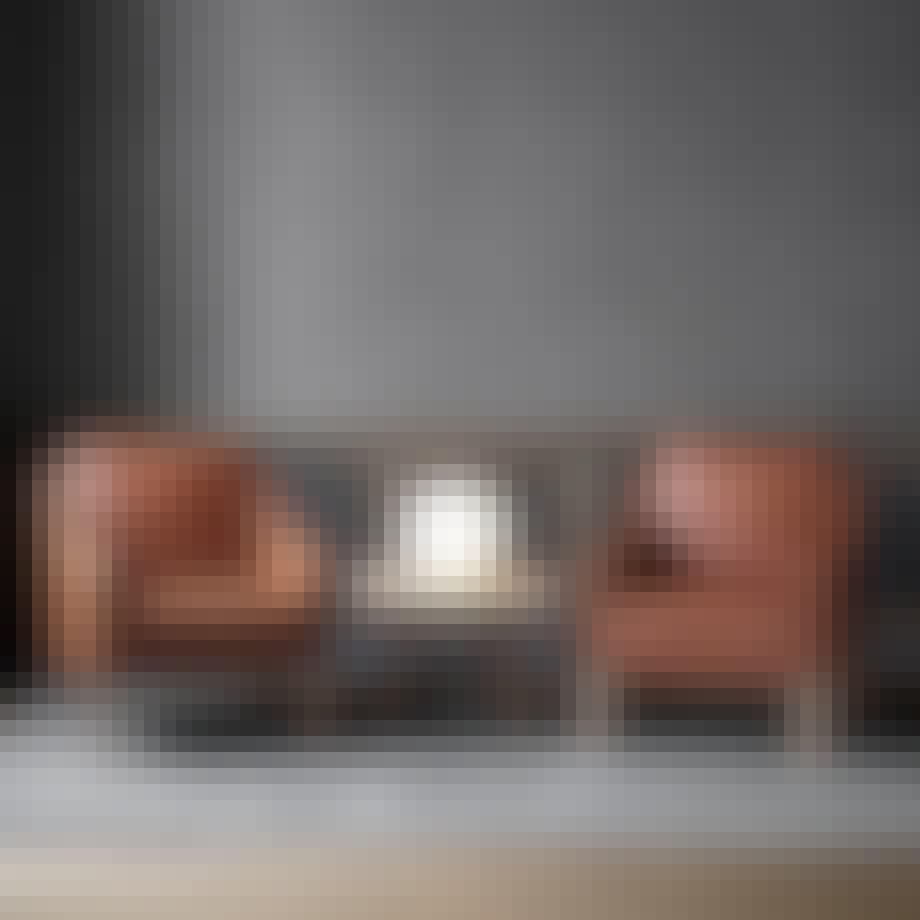 2207 loungestol af Børge Mogensen