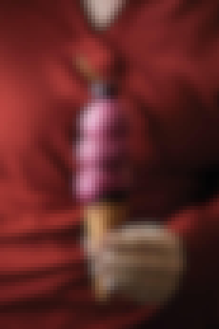 Vaffel med kirsebæris