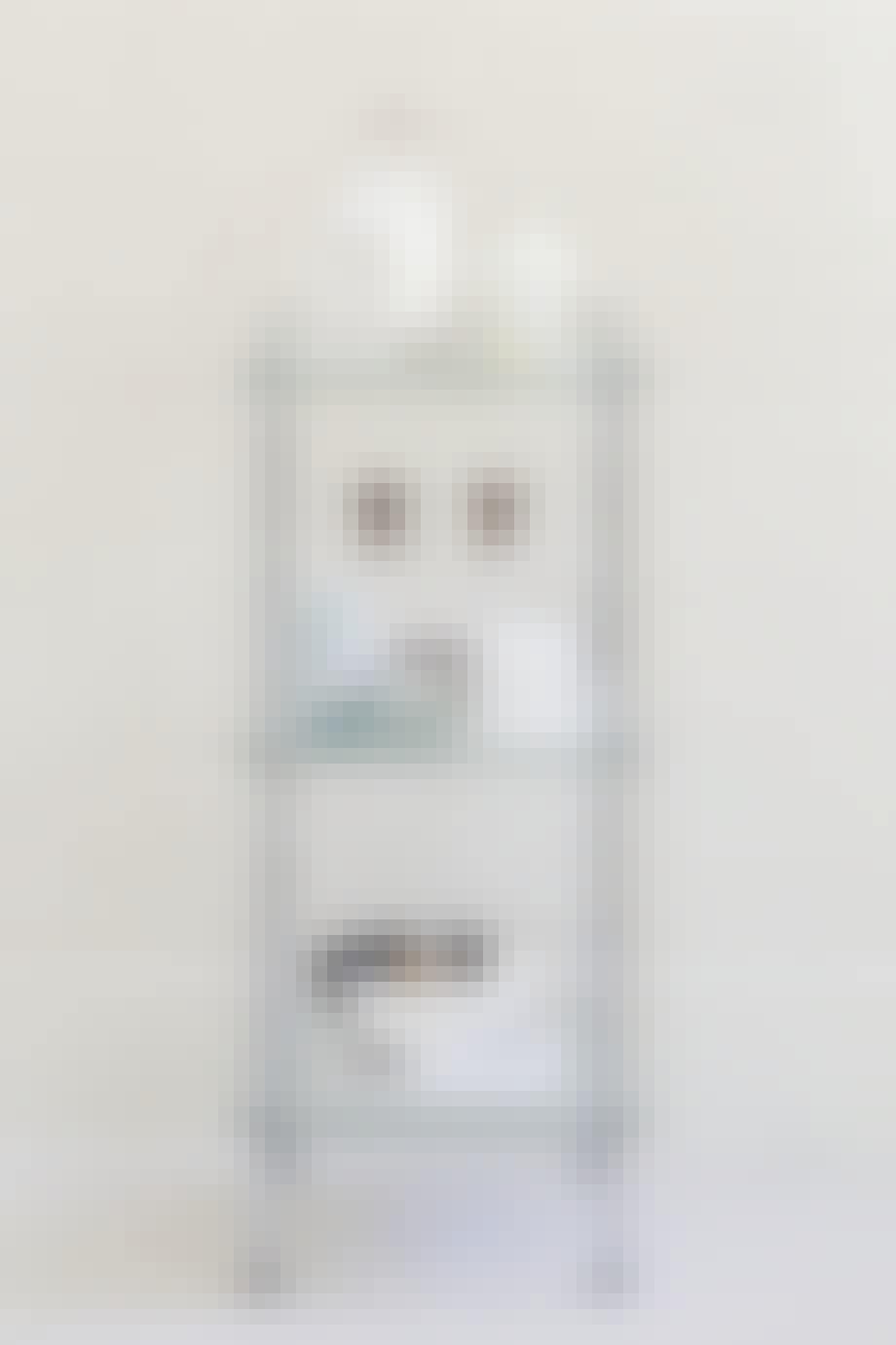En enkel hyldeopsats i glas fra Aquadomo