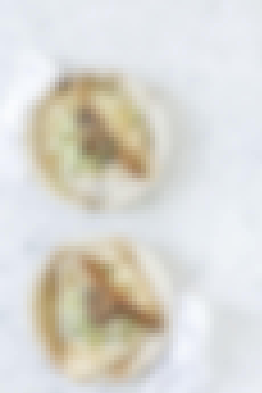 Fastfood bestående af luksus-hotdogs
