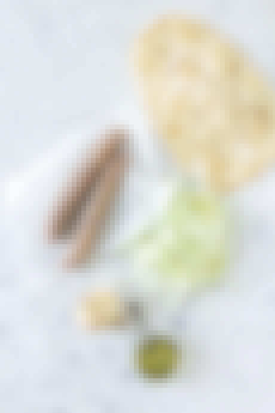 Åben hotdogs med spidskål