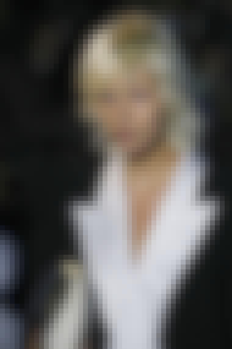Platinblond blond hår