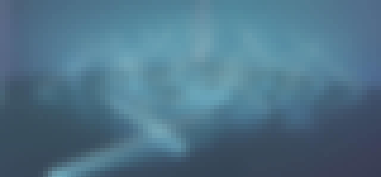 Fondation Louis Vuitton blå lysstofrør