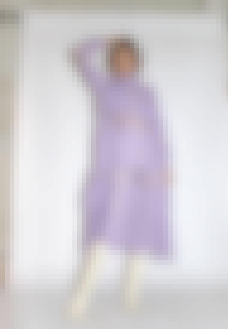 Blondekjole, kjole med blonder.