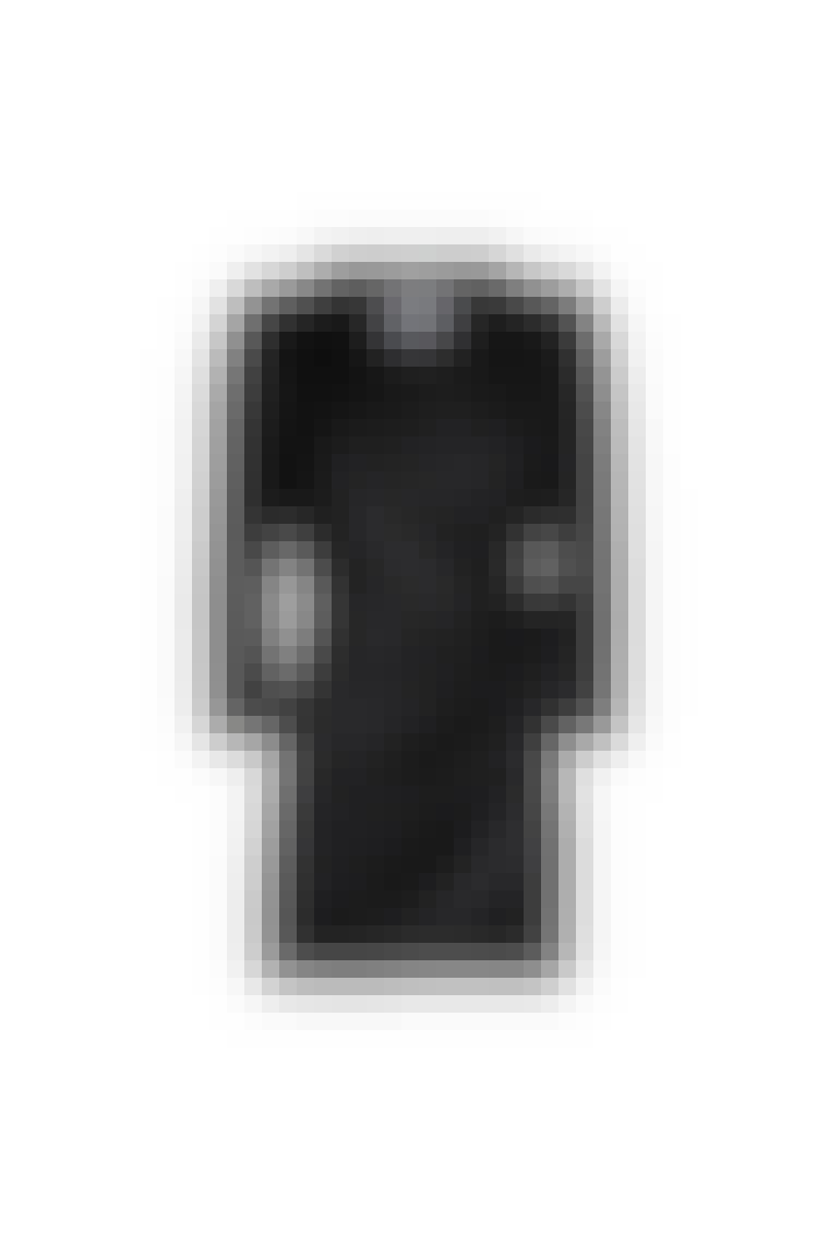 Den lille sorte kjole i læder fra Designers Remix.