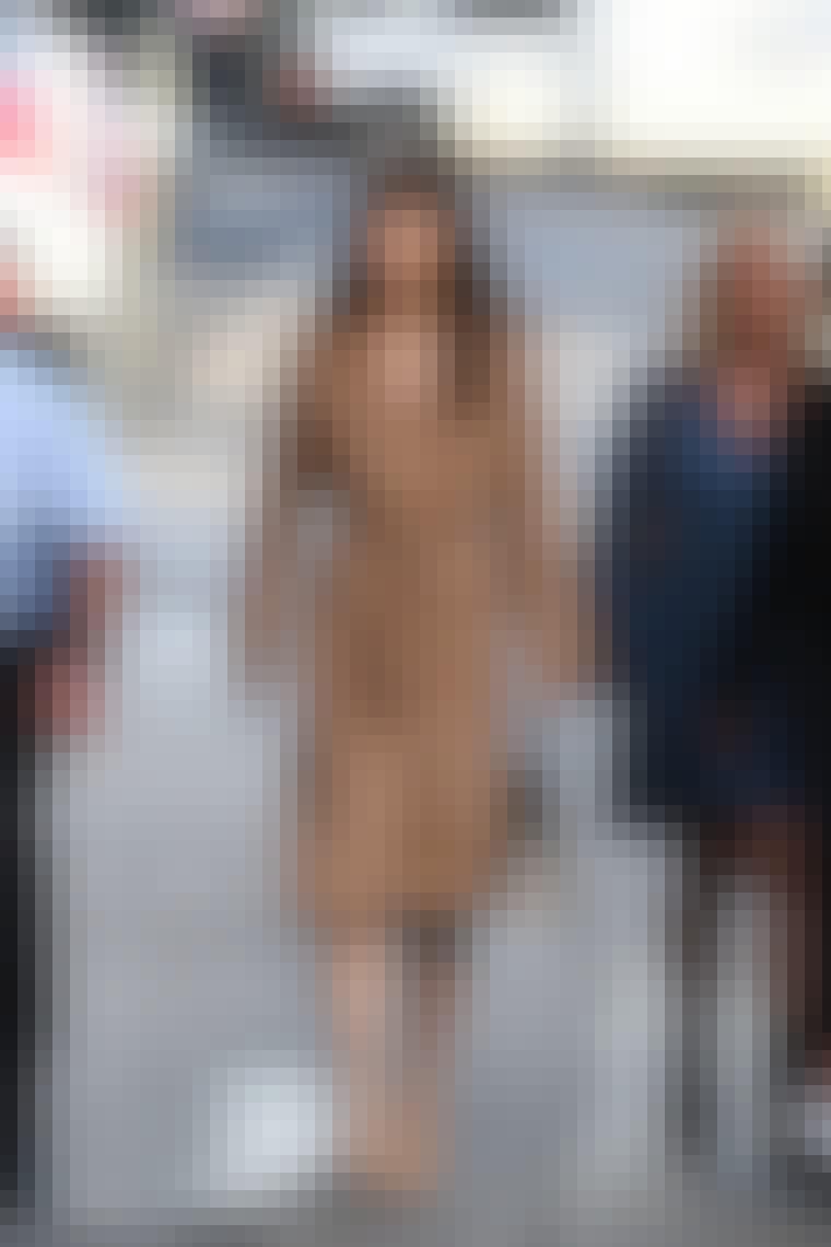 Jessica Biel Max Mara frakke