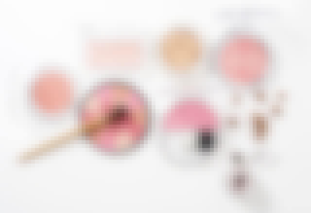 Opbevaring af makeup: 6 utraditionelle idéer