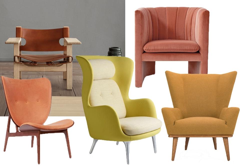 De lækreste lænestole til stuen | costume.dk