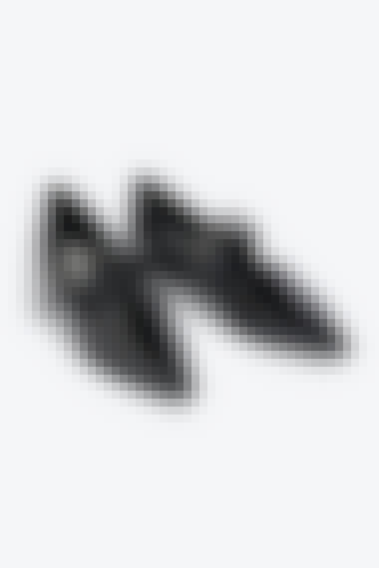 sorte laksko med spænder