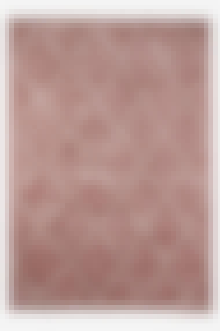 lyserødt tæppe