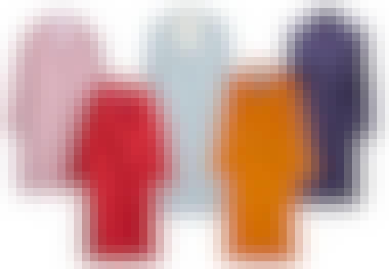 Farvede frakker