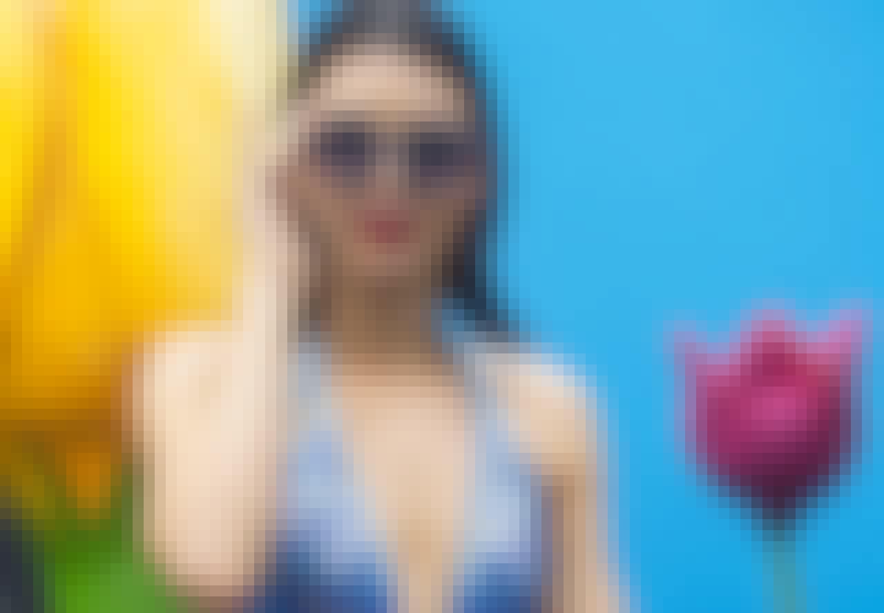 Undgå grønt hår fra poolen, og få lige så skønt hår som Kendall Jenner