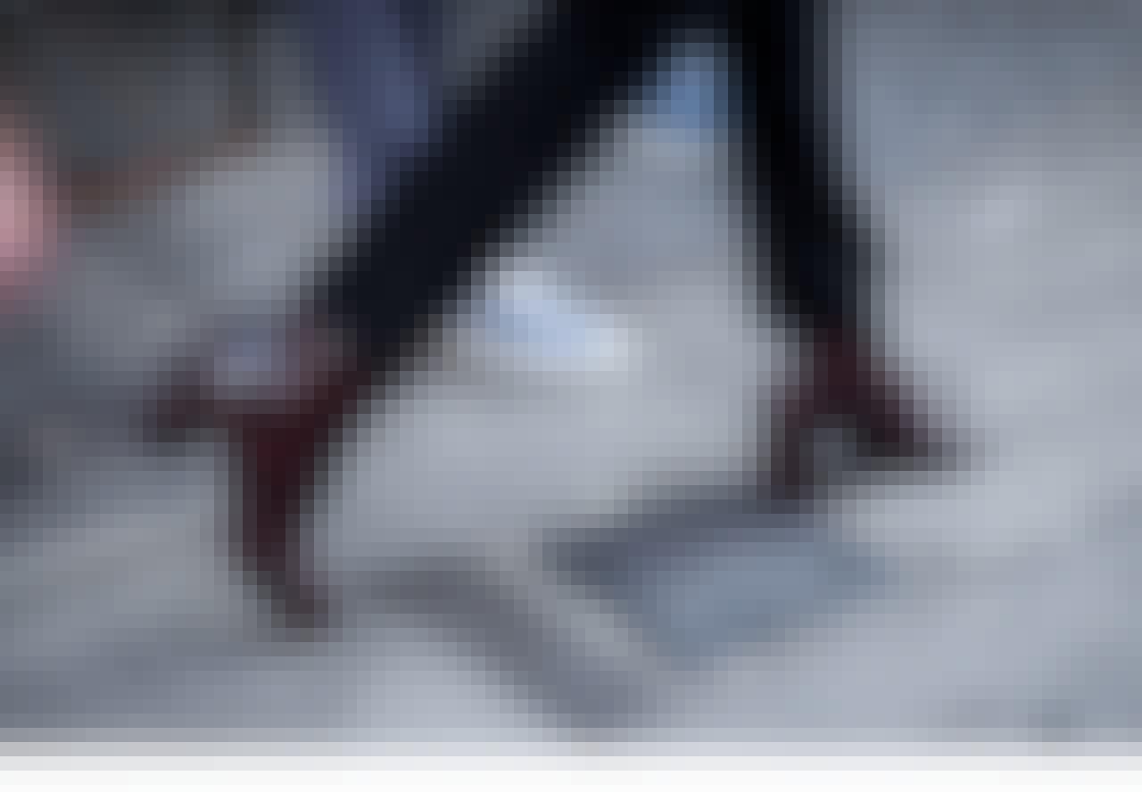 Du går med den helt forkerte skostørrelse