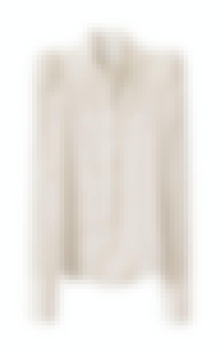 hvit bluse H&M