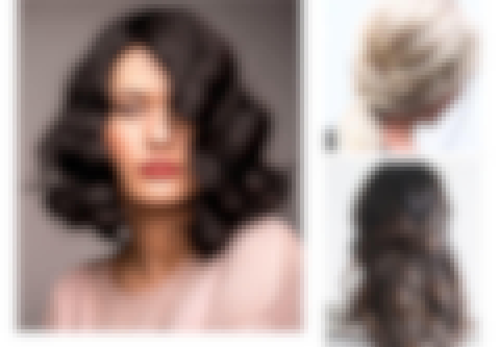 Festfine frisyrer til halvlangt hår