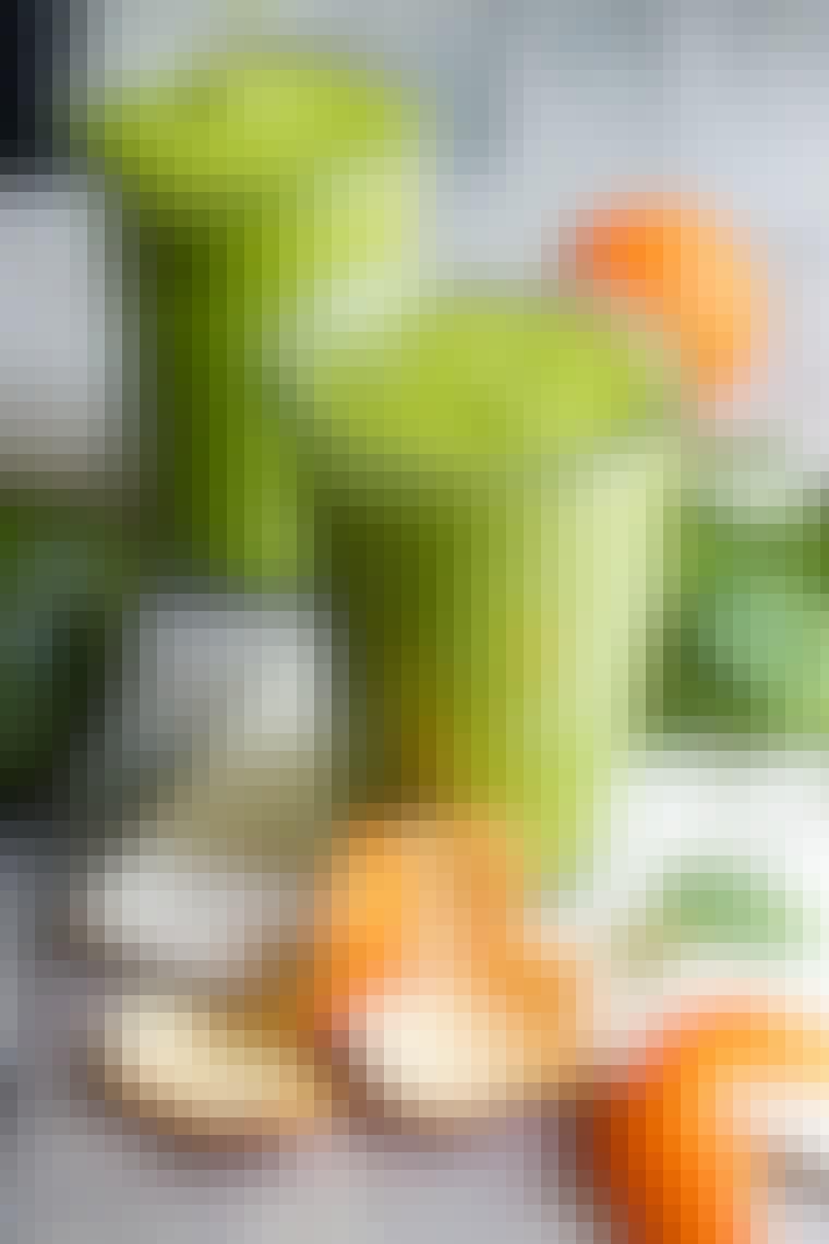 Avocado- og klementinsmoothie
