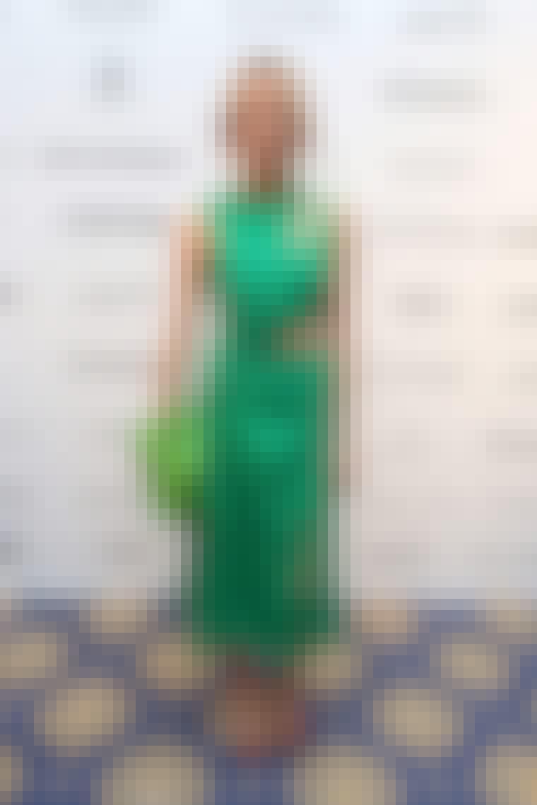 Hege Aurelie Badendyck i kjole fra Hugo Boss