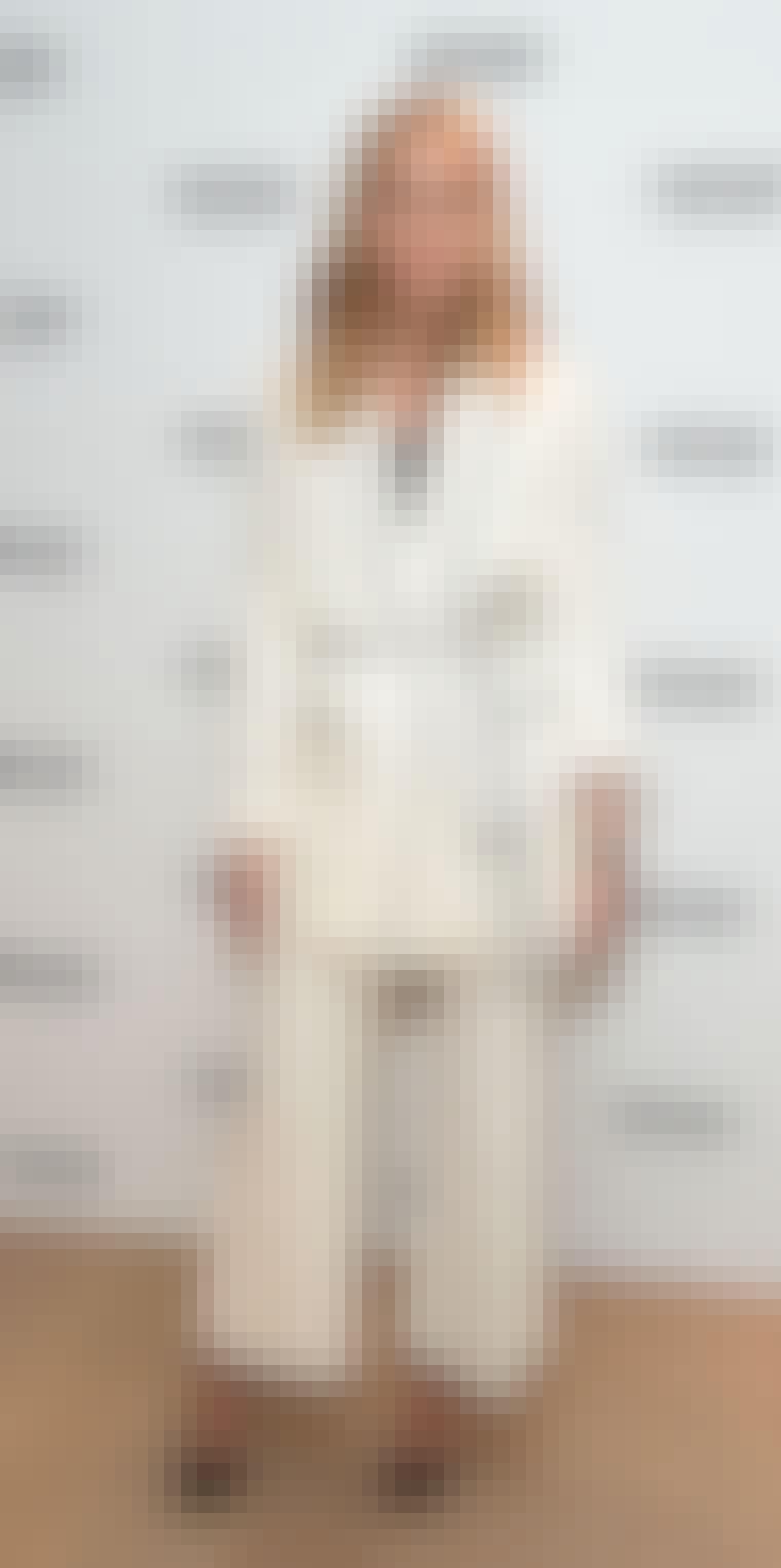 olivia palermo hvite dress zara