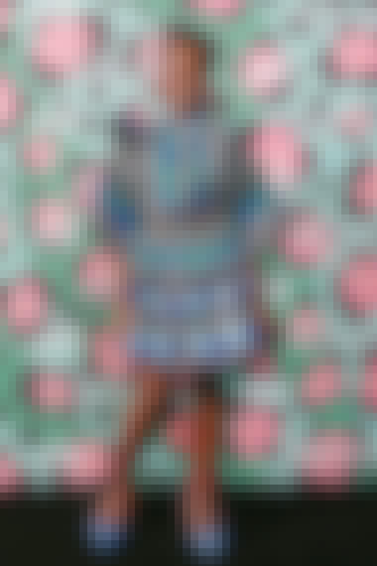 Lupita Nyong'o i kjole fra KENZOxH&M