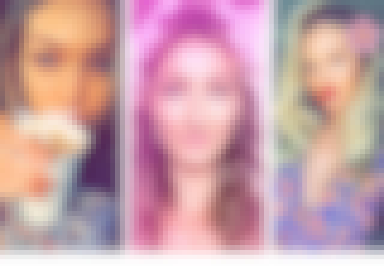Supermodellene Gigi Hadid, Gisele Bündchen og Candice Swanepoel.