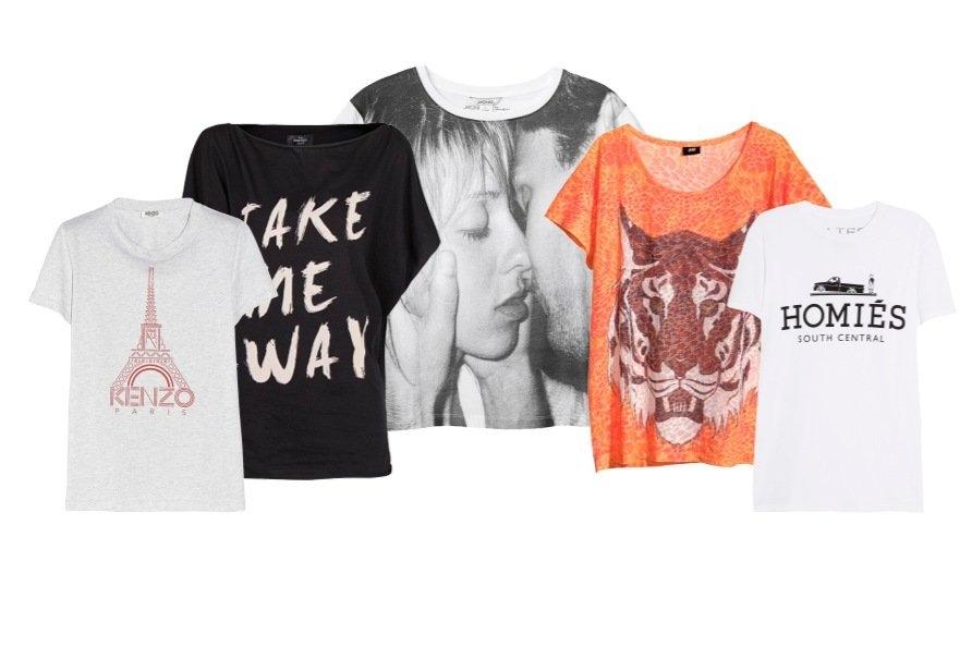 Kule T skjorter: Sesongens fineste T skjorter | Fine T skjorter