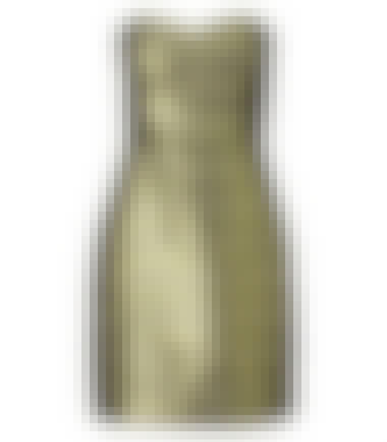 Gullfarget kjole fra H&M, 399 kroner.