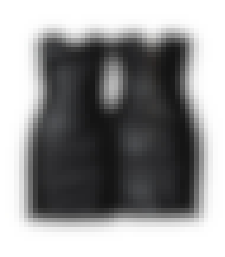 Svart tubekjole fra H&M, 399 kroner.