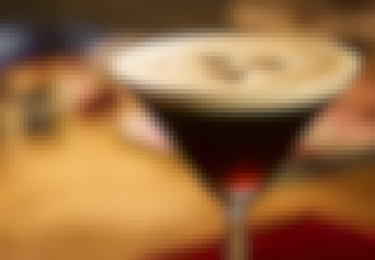 Opskrift på kaffe-drinken Espresso Martini