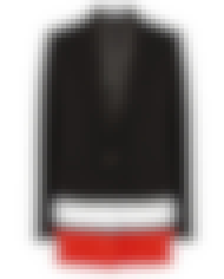 Med rød og hvid